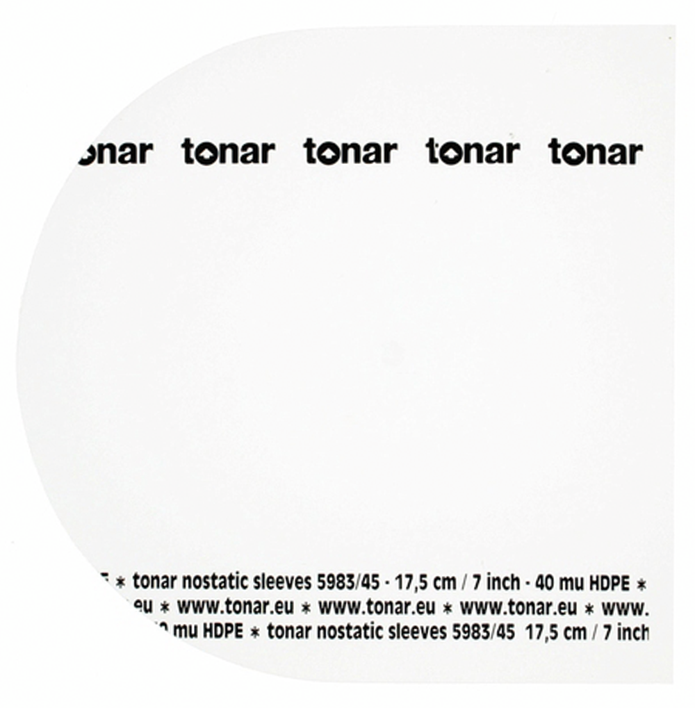 Tonar Nostatic sleeves for 7 inch