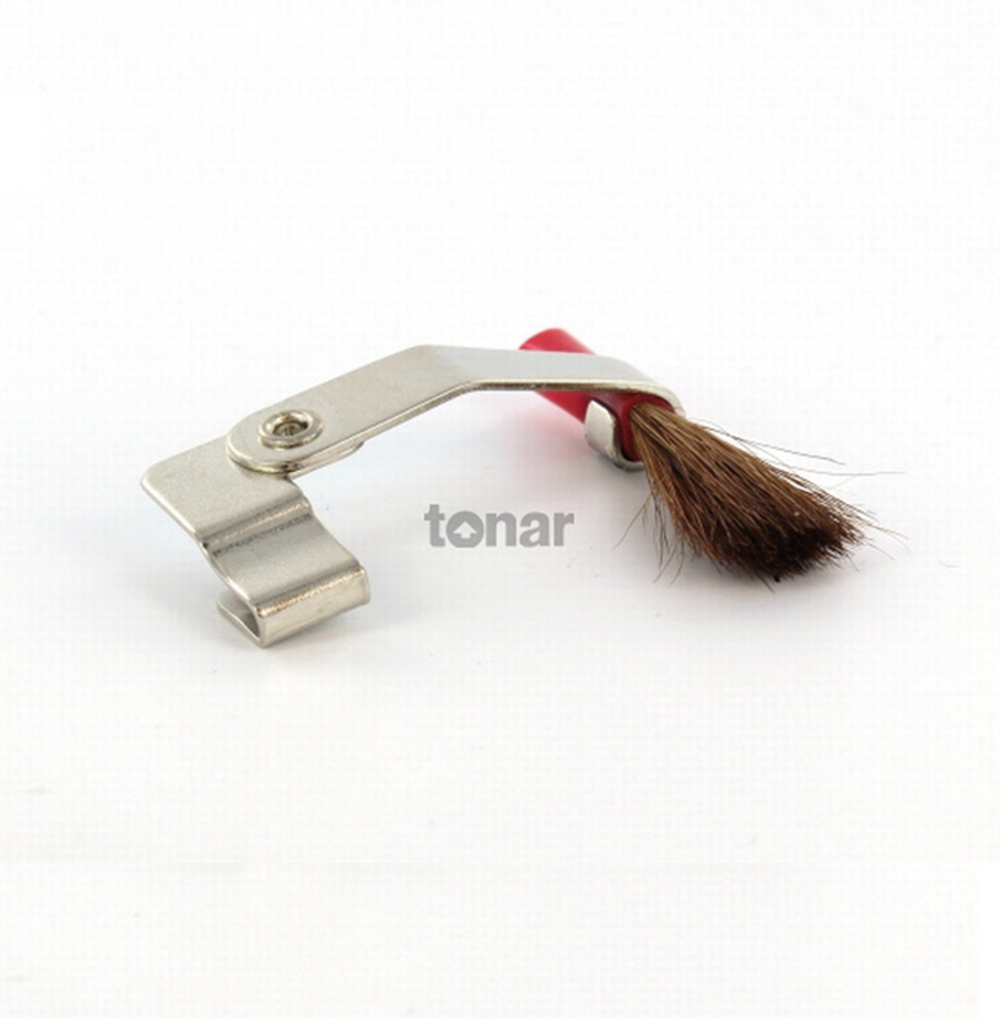 Tonar clip on brush