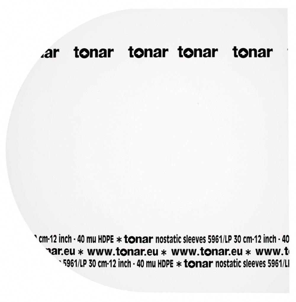 Tonar Nostatic sleeves 12 inch